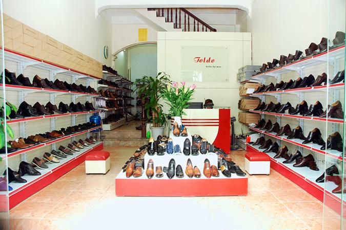 cửa hàng giày cao nam