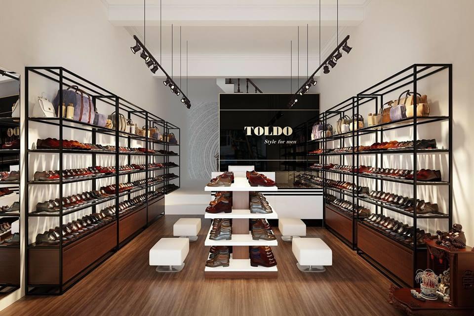 cửa hàng giày cao nam Toldo